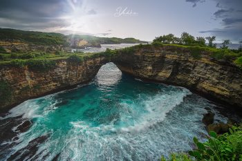 Sunset Broken Beach Nusa Penida